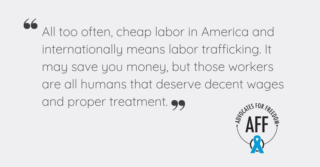 Advocates For Freedom on Forced Labor