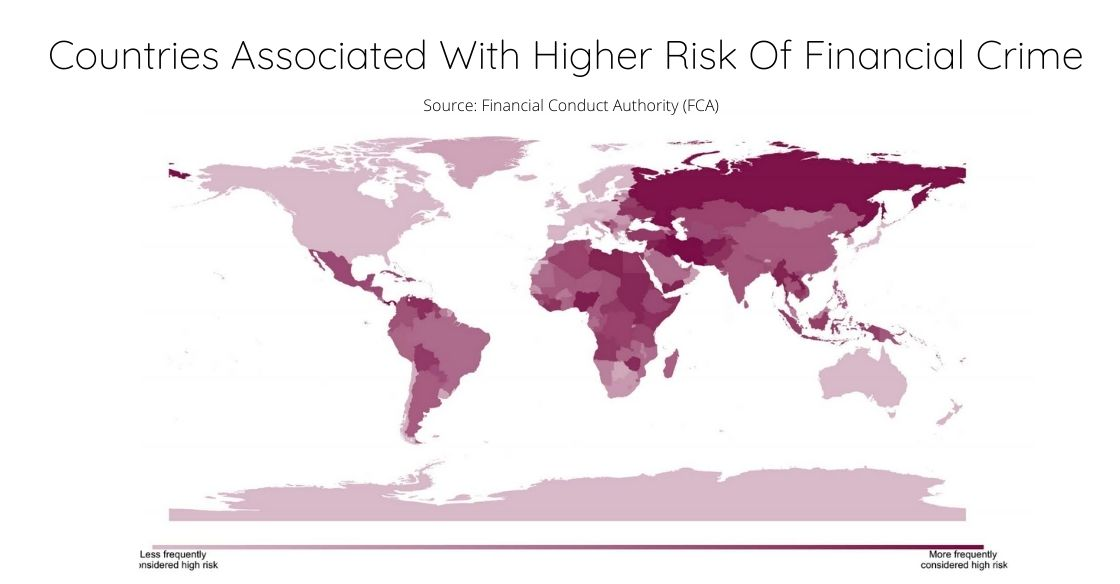 Countries Associated With Higher Risk Of Financial Crime (1)
